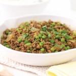 Curry de vita si sos de iaurt