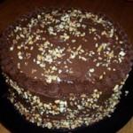 Tort cu crema de ciocolata si nuci