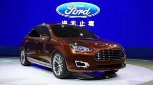 Ford Escort Concept la Salonul Auto de la Shanghai