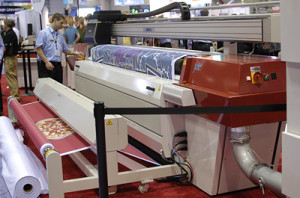 The new 2013 JETI 3324 AquaJet RTR industrial printer from Agfa