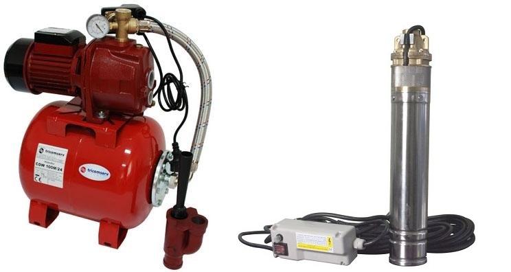 hidrofoare cu ejector si pompe submersibile