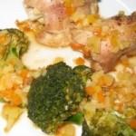 Broccoli in sos rosu
