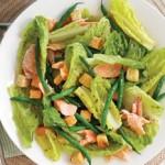 Salata cu pastrav afumat si mustar