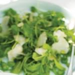 Salata de bob cu rucola si menta