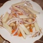 Salata de fasole cu paste