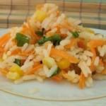 Salata de orez cu morcovi
