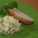 Salata de oua cu sparanghel si ciuperci