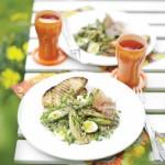 Salata de sparanghel cu seminte de fenicul