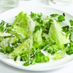 Salata verde cu lapte batut