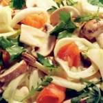 Salata de ciuperci(Reteta de Post)