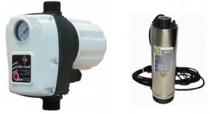 pompa submersibila cu presostat electronic