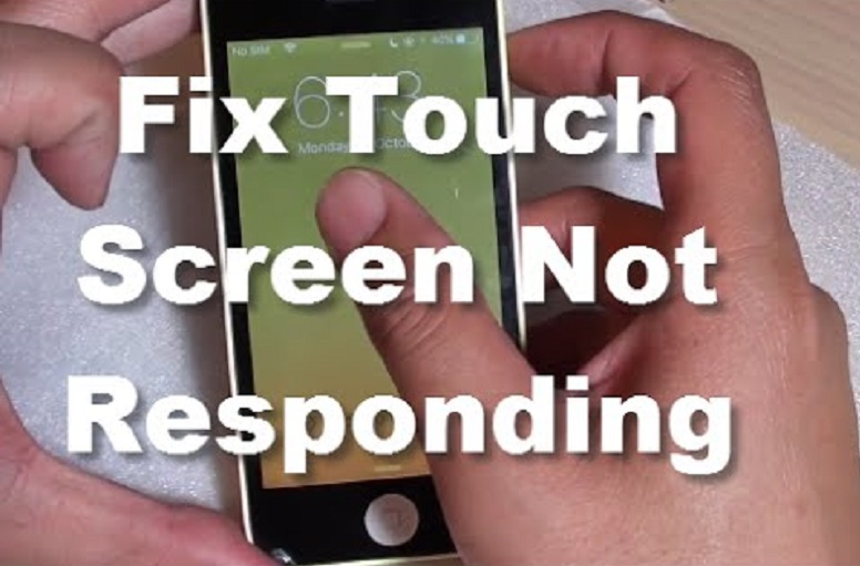What do you do when your touchscreen does not work?