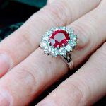 Inele de logodna cu rubine si diamante?